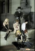Death Note group IV by MarineOrthodox