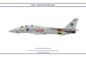 Fantasy 682 F-14A Earth Defence Directorate by WS-Clave
