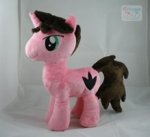 OC Regal Masquerade Plushie by LiLMoon