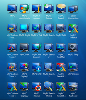 Vistard EFi PC Icons, PNG, PSD by Elmer-BeFuddled