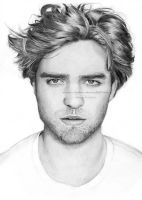 Robert Pattinson by Ilojleen