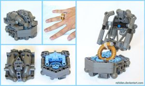 Bionicle MOC: Ring by Rahiden
