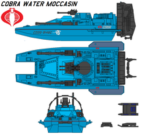Cobra Water Moccasin by bagera3005
