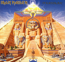 Iron Maiden - Powerslave by CUBASMETAL