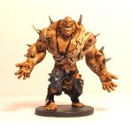 Painted Zombicide Abomination by robduckyworth