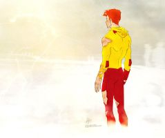 Kid Flash: Google maps didn't cover this by croaky