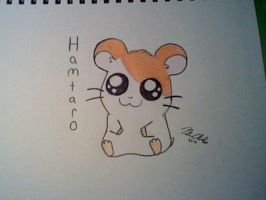 Hamtaro colored by GalacticRainbow
