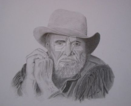 The Great Merle Haggard by SickyGreen