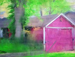 Shed by the Road by tripptaylor