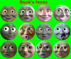 Duck's Faces by grantgman