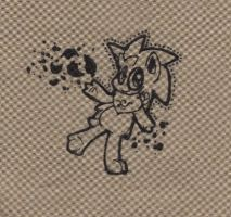 Barky on a napkin by 0Shiny0