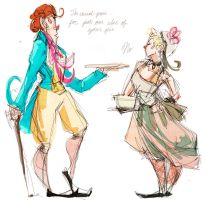 Bamatabois vs Fantine by BeesInMyPants