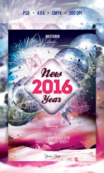 2016 NYE Flyer/Poster Vol.01 by another-graphic