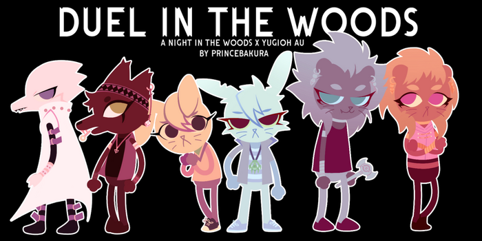[YGO] Nitw x YGO - Duel in the Woods: Chara Set A by PrinceBakura