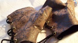 Steampunk Gloves by salvagedsword