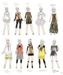 Various female clothes 5 by meago