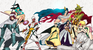 King Sinbad and The Eight Generals by xRyuSama