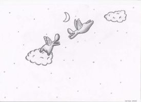 Flying angels by mloes