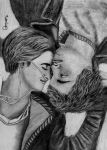 The Fault in our Stars: Hazel Grace and Augustus W by Darpansinghh