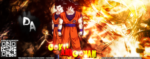 Goku And Gohan by HomeGods