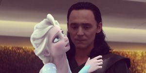 *Loki and Elsa * by alice-in-wonderland2