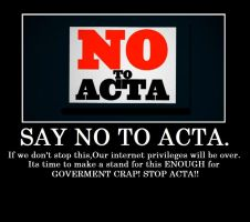 STOP ACTA by DestinyDecade
