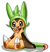 Chespin! by RaptorOFire