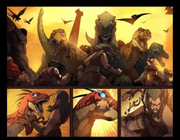 charismagic the death princess #1 PG 5-6 by E-Mann