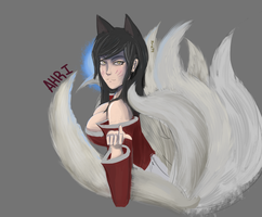 Ahri Finished by Juns94