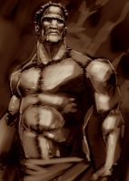 Frankenstein's Monster by Caveatscoti
