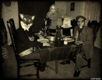 The Mad Hatters Tea Party Without The Mad Hatter by Estruda