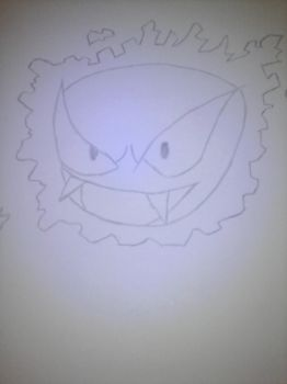 Gastly by gmantb