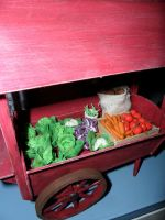 Wagon Vegetables Closeup by kayanah