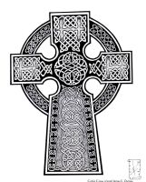 Celtic Cross by childofdanu