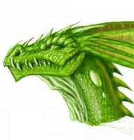 Green Dragon by LordHannu