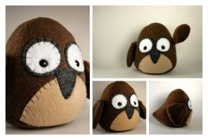 Owl Plushie by Saint-Angel
