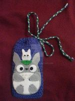 Totoro phone case by Nouko-chan