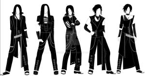 Visual kei collection ((c) Elven Eclipse lable) by edmona1980