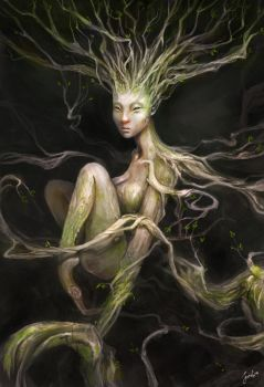 Mother of Cordyceps by JowieLimArt