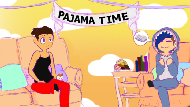 Pajama Time by GhostlyIntrovert
