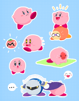 Kirbys by SugarKills