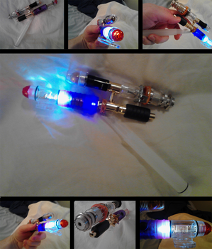 Sonic Blaster Screwdriver Combo WIP by quicksilver20