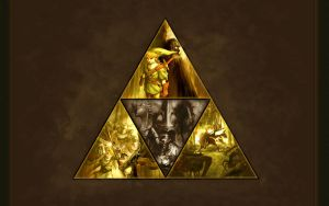Legend of Zelda Triforce by OneWhoGreetedDeath