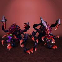 League of Legends Cho Gath by ArmachamCorp