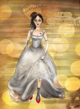 Cinder goes to the ball by TheSearchingEyes