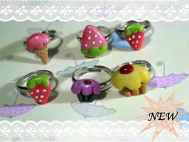 NEW Cutie Pie Rings by chat-noir