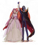 Euphemia and Zero by Leloucha