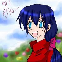 Ayame sketch by aiko19th