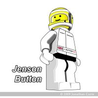 Lego Jenson Button t-shirt by InsaneGelfling