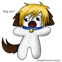 .: Hug a Vic puppy :. by ASinglePetal